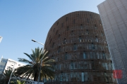 Barcelona 2015 - Building covered in Wood