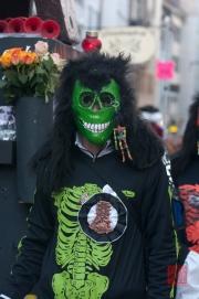 Cortege Basel 2012 - Waggis - Skelett