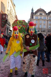 Cortege Basel 2012 - Waggis - Clowns