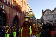 Cortege Basel 2012 - Alti Glaibasler - Waggis