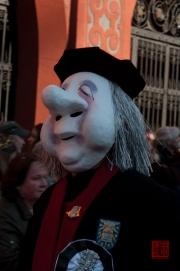 Cortege Basel 2012 – Die Sajustepien Sorritter