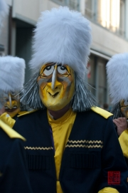 Cortege Basel 2012 - Dupf Club - Alti Garde - Trommler