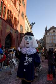 Cortege Basel 2012 - Deecht - Stamm - Tambourmajor