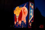 Morgestraich Basel 2012 - Pierrot Clique