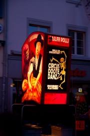 Morgestraich Basel 2012 - Basler Rolli - Alti Garde