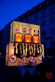 Morgestraich Basel 2012 - Fahrradlaterne