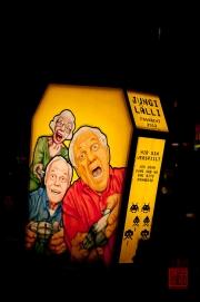 Morgestraich Basel 2012 – Lälli Clique - Jungi Clique - Rückseite