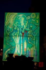 Morgestraich Basel 2012 - Gurken sind Schurken