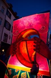 Morgestraich Basel 2012 - Herzlaterne
