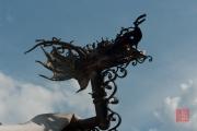 Spectaculum Worms 2012 - Feuerspeiernder Drachenkopf