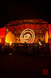 MPS Mosbach 2012 - Feuerspektakel - Spiral Fire IV