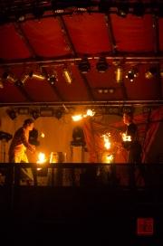 MPS Mosbach 2012 - Feuerspektakel - Gauklerduo Forzarello