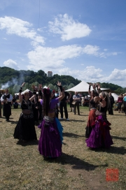MPS Mosbach 2012 - Tanzende Gäste I