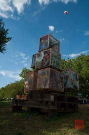 Das Fest - Kunstinstallation