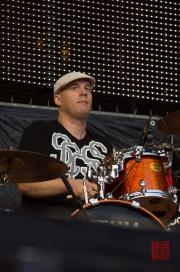 Rheinland-Pfalz Open Air 2012 - Mic Donet - Schlagzeug
