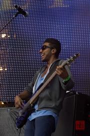 Rheinland-Pfalz Open Air 2012 - Mic Donet - Gitarre