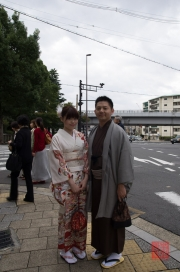 Japan 2012 - Kyoto - Couple in traditional cloths