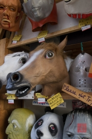 Japan 2012 - Kyoto - Horse mask