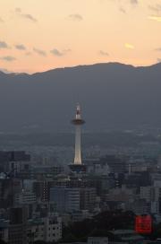 Japan 2012 - Kyoto - Kiyomizu-dera - Kyoto Tower close-up