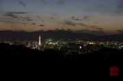 Japan 2012 - Kyoto - Kiyomizu-dera - View on Kyoto by night