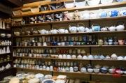 Japan 2012 - Kyoto - Porcelain shop - Tea accessoires