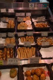 Japan 2012 - Kyoto - Teramachi - Deep fried specialities I
