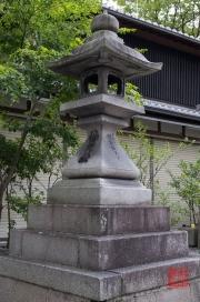 Japan 2012 - Kyoto - Fushimi Inari Taisha - Stone Lantern
