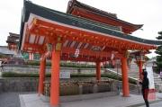 Japan 2012 - Kyoto - Fushimi Inari Taisha - Cleaning fountain