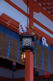 Japan 2012 - Kyoto - Fushimi Inari Taisha - Flower lantern