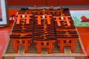 Japan 2012 - Kyoto - Fushimi Inari Taisha - Wishing boards shop