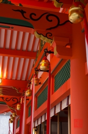 Japan 2012 - Kyoto - Fushimi Inari Taisha - Pillar