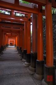 Japan 2012 - Kyoto - Fushimi Inari Taisha - Big archway