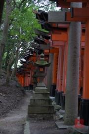 Japan 2012 - Kyoto - Fushimi Inari Taisha - Archway outside I