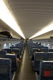 Japan 2012 - Shinkansen - Waggon
