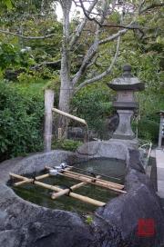 Japan 2012 - Kamakura - Hase-dera - Cleaning fountain