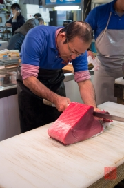 Japan 2012 - Tsukiji - Fish Market - Tuna filets I