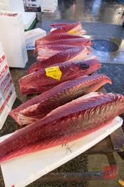 Japan 2012 - Tsukiji - Fish Market - Tuna Halfs II