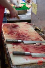 Japan 2012 - Tsukiji - Fish Market - Workplace