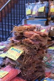 Japan 2012 - Tsukiji - Fish Market - Dried Squids