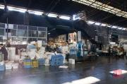 Japan 2012 - Tsukiji - Fish Market - Garbage
