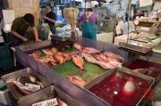 Japan 2012 - Tsukiji - Fish Market - Slaughter