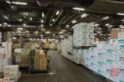 Japan 2012 - Tsukiji - Fish Market - Labyrinth of Boxes