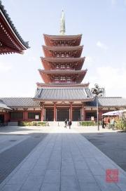 Japan 2012 - Asakusa - Kannon - Pagoda