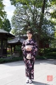 Japan 2012 - Asakusa - Kannon - Guest in Kimono