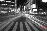 Japan 2012 - Shibuya - Crosswalk - Cars