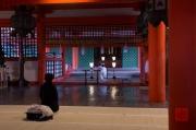 Japan 2012 - Miyajima - Itsukushima Shrine - Ceremony