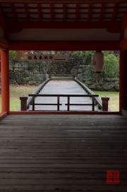 Japan 2012 - Miyajima - Itsukushima Shrine - Bridge