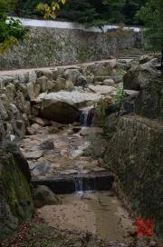 Japan 2012 - Miyajima - Creek waterfall