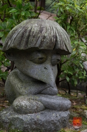 Japan 2012 - Miyajima - Daisho-in - Crow Sculpture