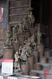 Japan 2012 - Miyajima - Daisho-in - Sculptures